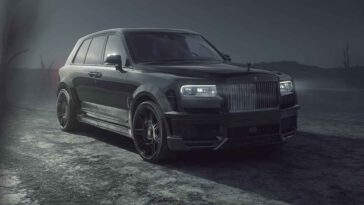 Rolls-Royce Cullinan Black Badge by Spofec