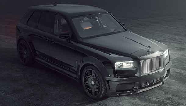 Rolls-Royce Cullinan Black Badge by Spofec