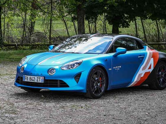 Alpine A110 Trackside