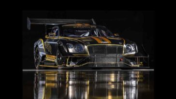 Bentley Continental GT3 Pikes Peak 2021