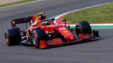Carlos Sainz - GP Imola 2022