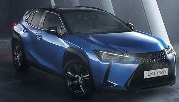 Lexus UX Hybrid Deep Sky