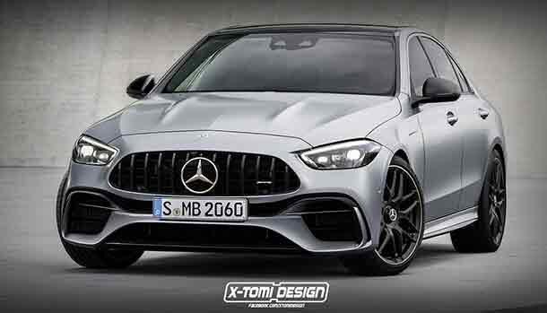 Mercedes C63 AMG 2022