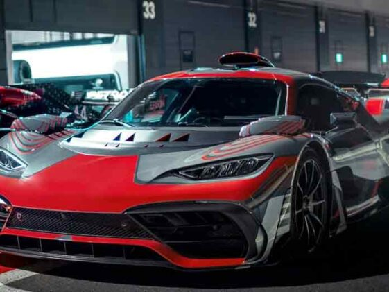 Mercedes AMG Project One 2021