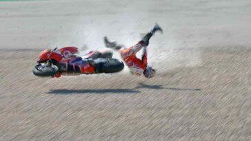 MotoGP Gran Premio del Portogallo - Caduta Jorge Martin