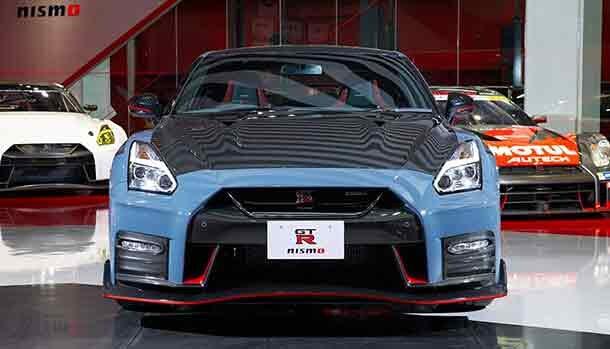 Nissan GT-R R35 Nismo Stealth Grey