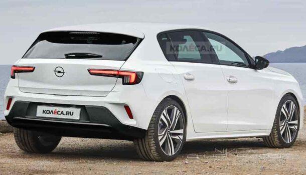 Nuova Opel Astra - Kolesa