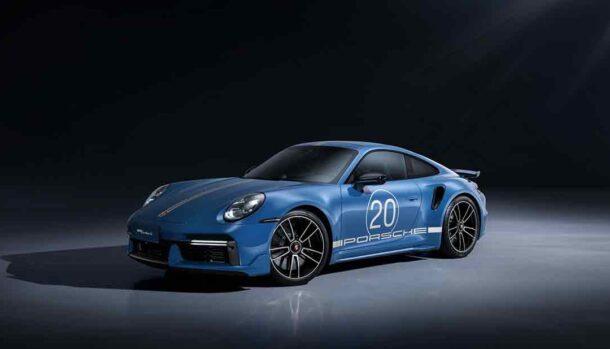 Porsche 911 Turbo S 20th Anniversary Edition