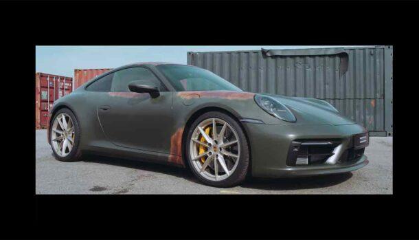 Porsche Patina