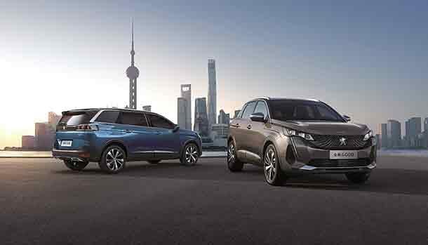 SUV Peugeot - Shanghai 2021