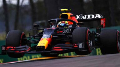 Sergio Perez - GP Imola 2021