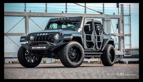 Jeep Wrangler by Liberty Walk