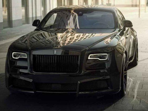 Rolls-Royce Black Badge Wraith Spofec Overdose