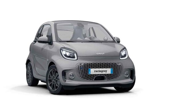 smart EQ fortwo e forfour racingrey
