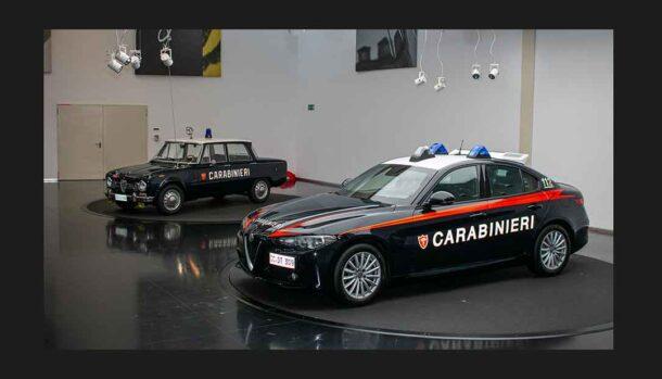 Alfa Romeo Giulia Arma dei Carabinieri