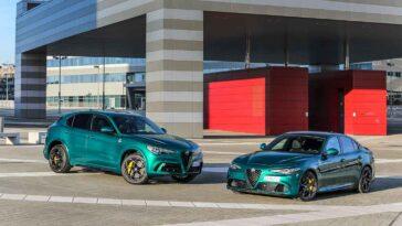 Alfa Romeo Giulia e Stelvio 2022