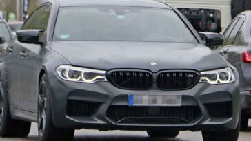 BMW M5 Competition Elettrica