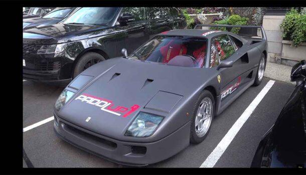 Ferrari F40 Matte Grey