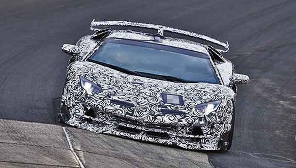 Lamborghini Aventador S Jota