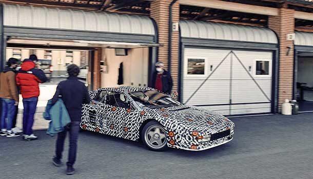 Nuova Ferrari Testarossa