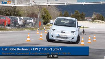 Nuova Fiat 500 Elettrica - Test dell'alce