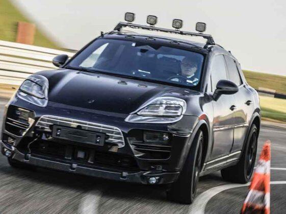 Porsche Macan Elettrica