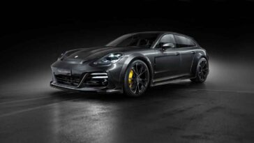 Porsche Panamera by TechArt