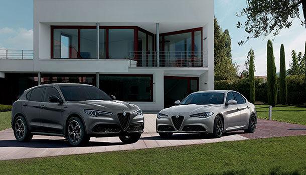 Alfa Romeo Stelvio e Giulia Web Edition