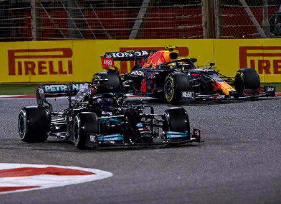 F1 Mercedes-Red Bull