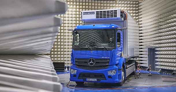 Mercedes eActros